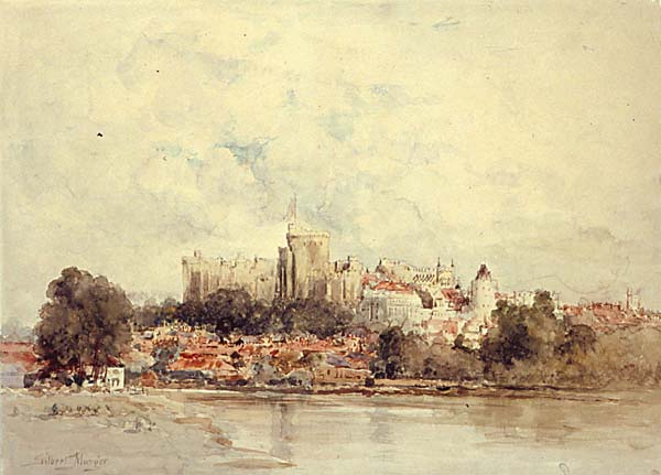 Windsor Castle painting