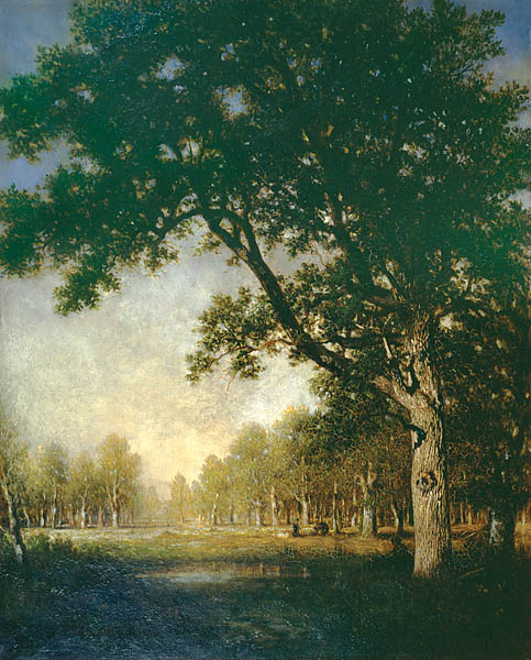 French Forest painting